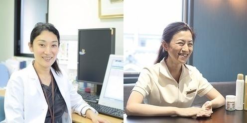 山本メディカルセンター 院長 齋藤 真理子 / ひでまりメディカル株式会社 薬剤師 弘中 秀美